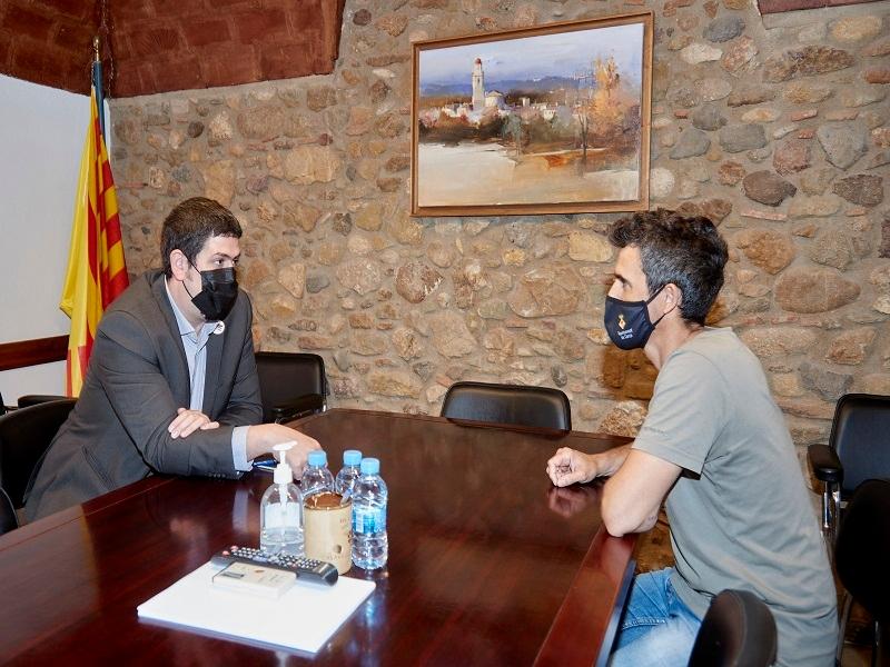 Foto : El vicepresident primer visita Corçà, Pals i Regencós per tractar les necessitats i projectes dels tres municipis