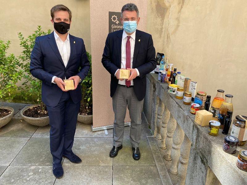 Foto : La Diputació presenta els guanyadors de la quarta edició de Girona Excel·lent en un context àlgid d'interès pels prod