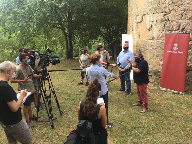 Foto : La Diputació de Girona impulsa un model de gestió d'ús públic de les gorgues per evitar-ne la sobrefreqüentació