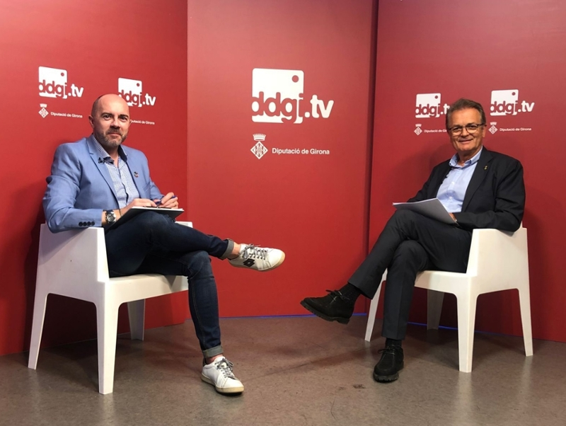Foto : A Ddgi.tv s'explicarà la importància de les carreteres locals i la transformació digital dels municipis peti