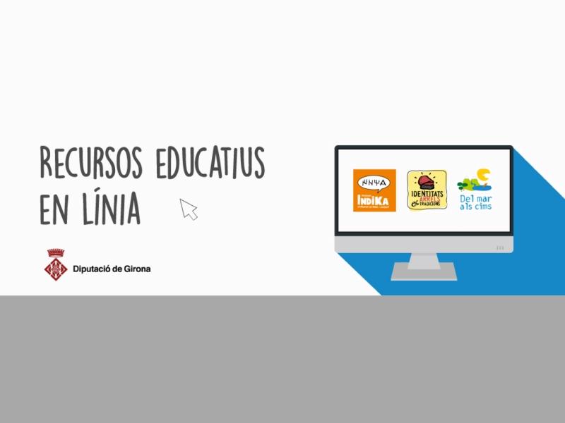 Foto : La Diputació de Girona impulsa recursos pedagògics en línia per a alumnes i docents de les comarques gironines