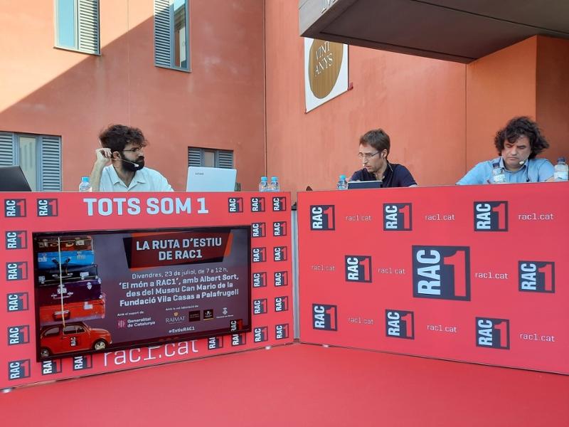 Foto : El vicepresident del Patronat, Jordi Masquef, defensa la Costa Brava i el Pirineu de Girona com a «destinacions segur