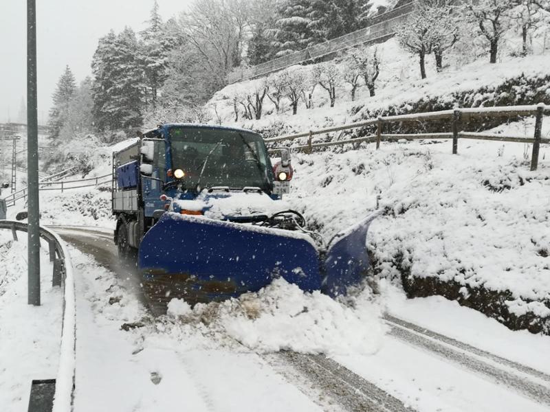 Foto : La Diputaciódestina més de mig milió d'euros a finançar actuacions municipals per nevades i glaçades durant el
