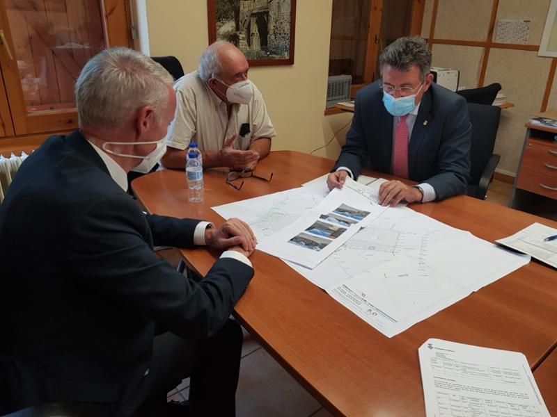 Foto : El president Miquel Noguer visita els municipis de Bolvir i Guils de Cerdanya