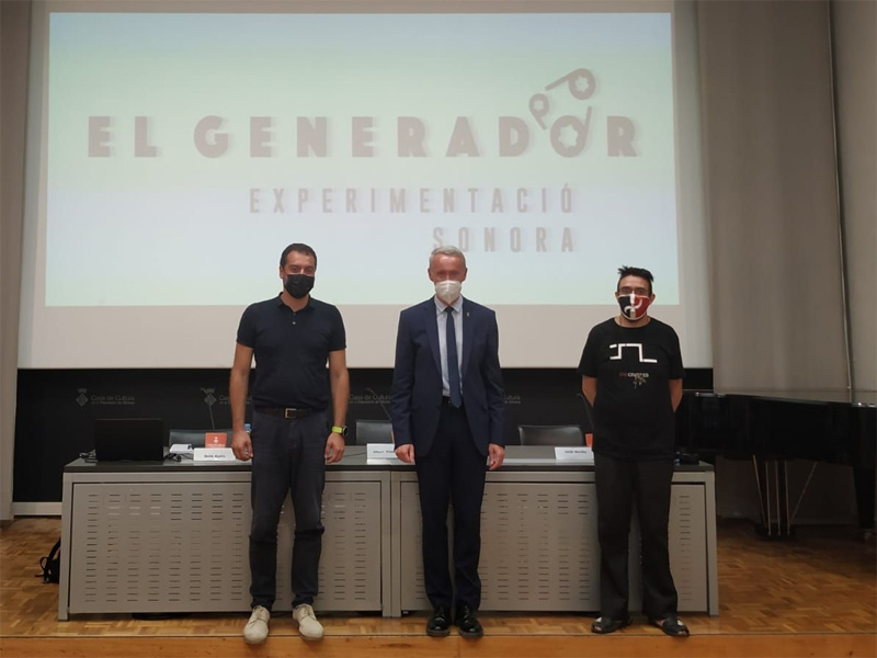 Foto : Quim Ayats, Albert Piñeira i Jordi Murillo.