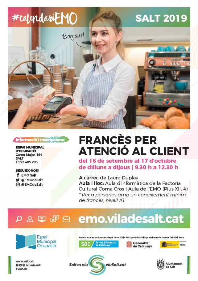 Francès per atenció al client