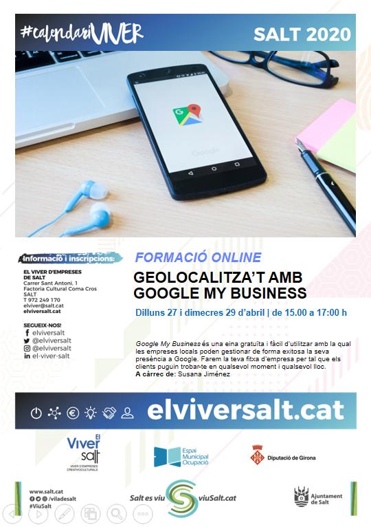 Geolocalitza't amb Google My Business - en línea