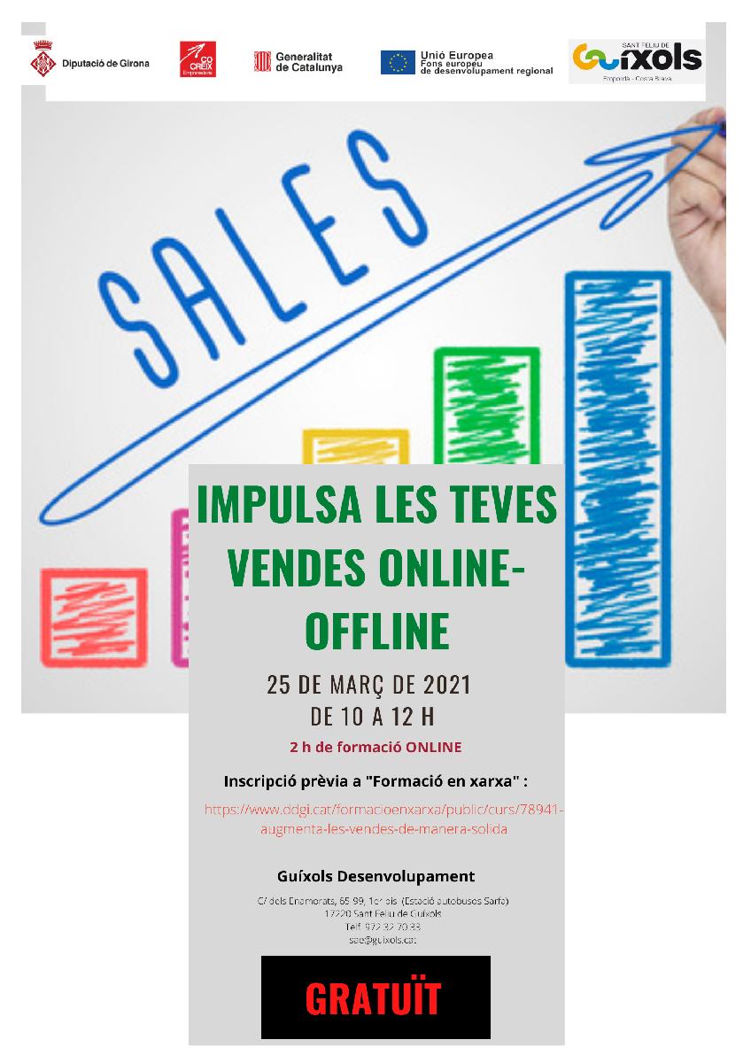 Impulsa les teves vendes Online - Offline