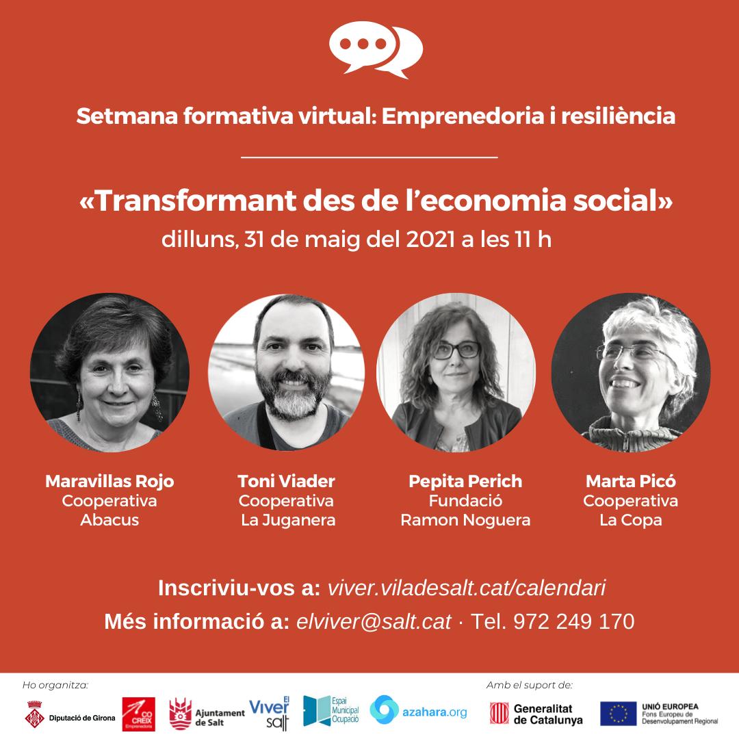 Sessió 1 - Transformant des de l'economia social