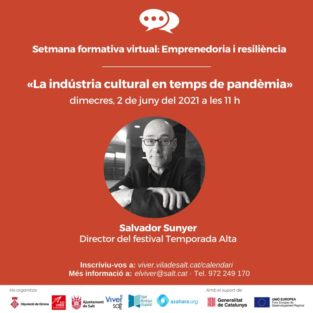 Sessió 3 - La indústria cultural en temps de pandèmia