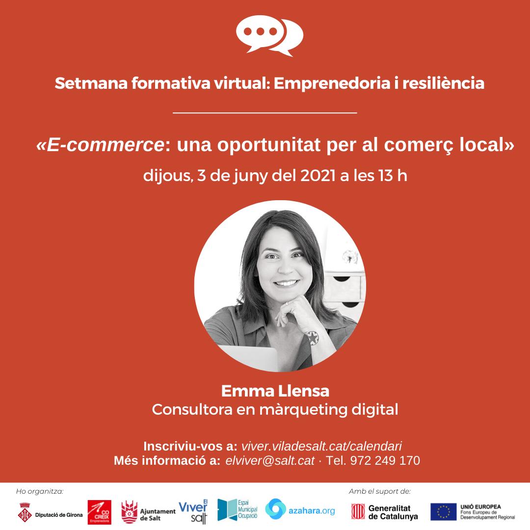 Sessió 4 - E-commerce: una oportunitat per al comerç local