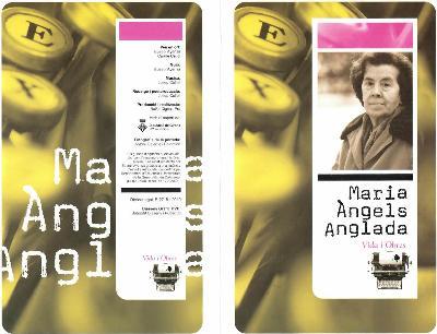 Maria Àngels Anglada. Vida i obres