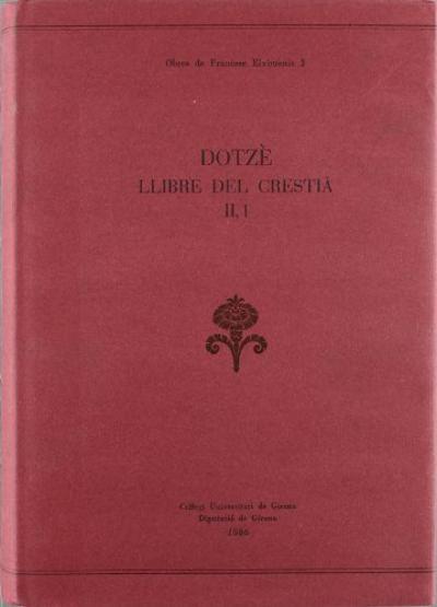 Dotzè llibre del Crestià (2a part, vol. II)