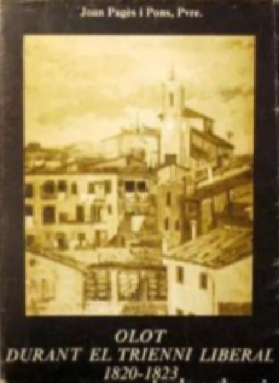 Olot durant el trienni liberal 1820-1823
