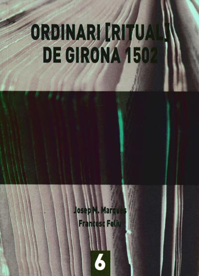 Ordinari ritual de Girona 1502
