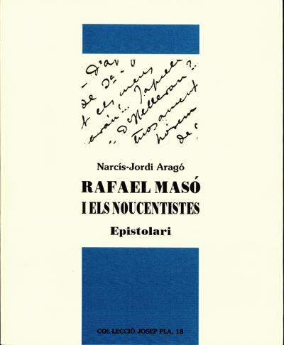 Rafael Masó i els Noucentistes