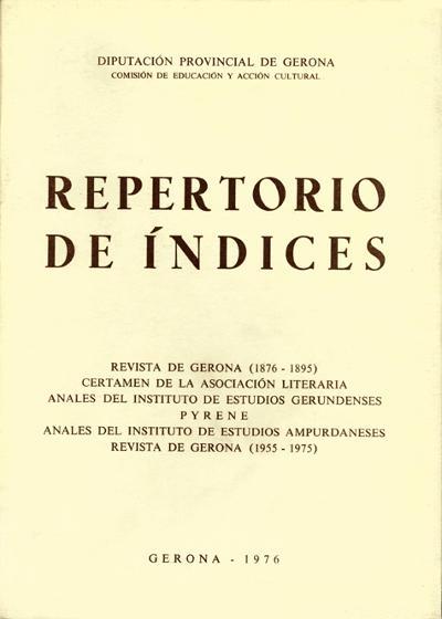 Repertorio de índices