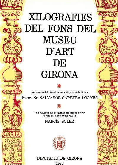 Xilografies del fons del Museu d'Art de Girona