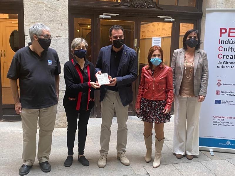 Foto : Girona posa en marxa un projecte de senyalització de les escultures públiques de la ciutat