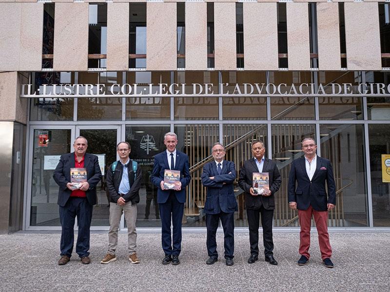 Foto : La Revista de Girona presenta un nou número, amb el dedicat a la justícia
