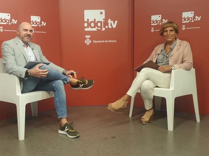 Foto : El programa Ddgi.tv dona a conèixer els programes d'Acció Social de la Diputació de Girona